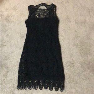 Bb Dakota lace black dress